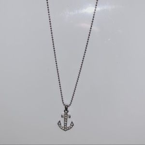 Jewelry - silver anchor charm necklace